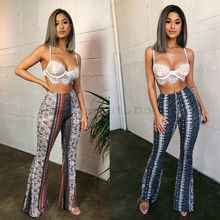 Women Baggy Harem Pants Boho Hippie Wide Leg Gypsy Palazzo Casual Trousers