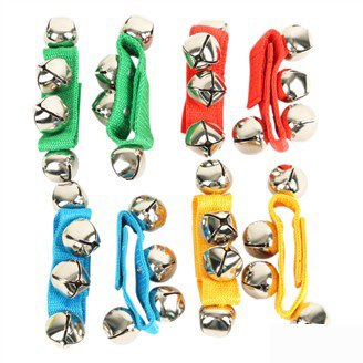 20PCS 10pair LOT Baby hand bell wrist wrap New baby toys Baby Rattles Children bracelet 12x2