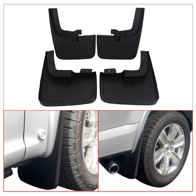 Front Rear Molded Splash Guards Mud Flaps For Ford F Flzaca Flzada Car