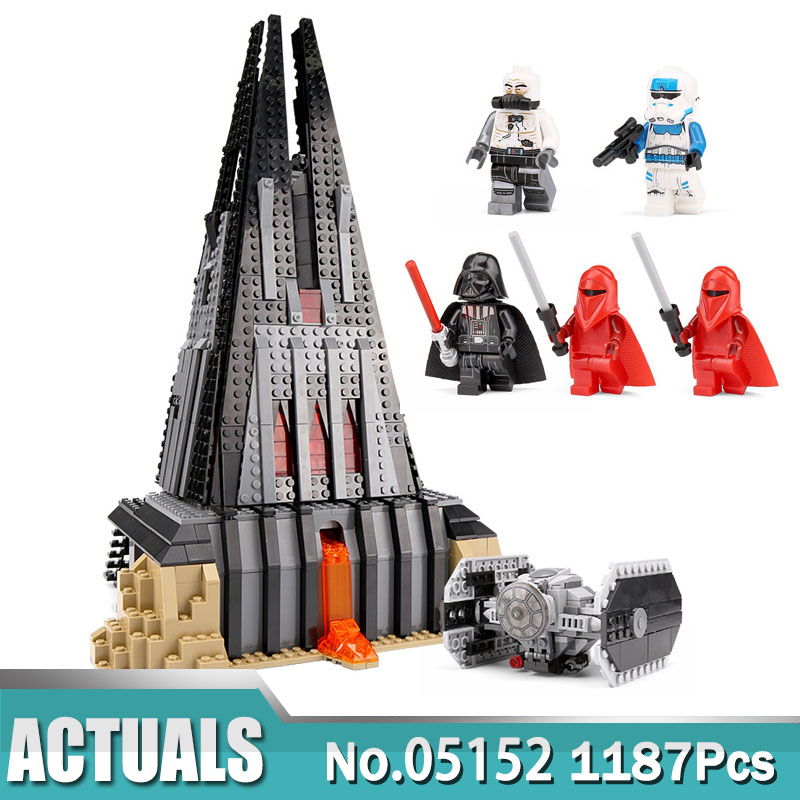 Star 05152 Wars The Darth Vader`s Castle Set Compatible with Lego 75251 Building Blocks Bricks Assemble DIY Toy for Child-in Blocks from Toys & Hobbies    1