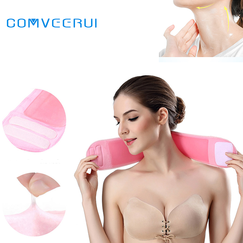 Neck Mask GEL Reusable Silicone Care Neck Pad Neck Tape Wrinkle Pads For Neck Wrinkle Treatment Prevention Anti Wrinkle Remover