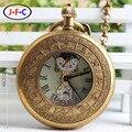 Двенадцать часовой шкале Китай ретро медь Знак ветер механические часы звезды ностальгия 24 часов T028