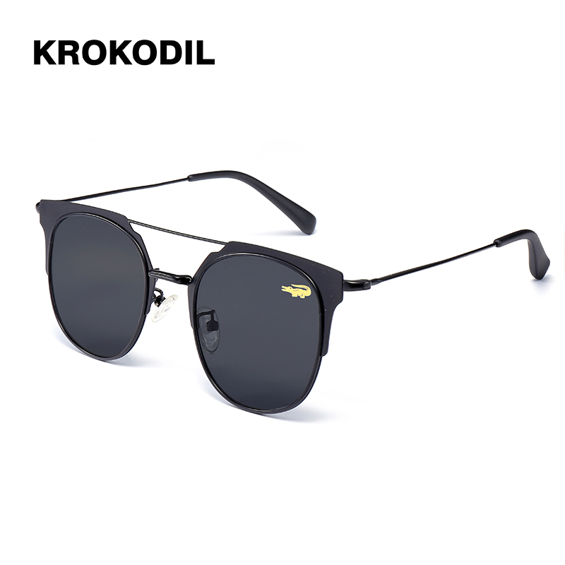 Stainless Polarized Men's Sunglasses Unisex Style Metal Hinges Polaroid Lens Top Quality Original Sunglasses Women Oculos 2933