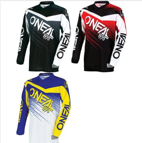 2018 motocross mtb dh new Mountain Bike Cycling Jersey Motorcycle Long Sleeve Cycling Jersey Motorbike Shirts Clearance Sales