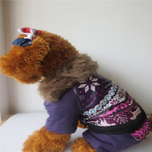 Massive Pet Winter Fleece Jumpsuit Garments Pets Canine Coats Heat Outwear Outfit Costume