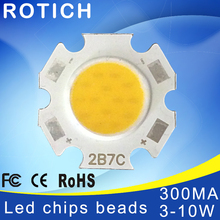 цена на High Power Epistar COB LED Chip 3W 5W 7W 10W  DC 10V-32V Integrated Beads SMD For Floodlight Spotlight Warm White /White