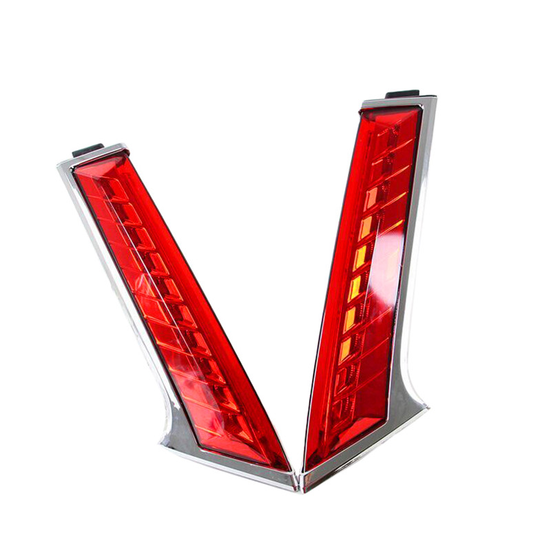 LED Rear Light LED Additional Brake Light LED Bumper Light LED Taillight For Nissan Xtrail X-trail X trail 2014 2015 car rear trunk security shield shade cargo cover for nissan x trail xtrail rogue 2014 2015 2016 2017 black beige