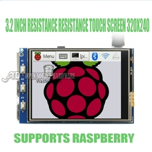 Wholesale 1pcs Raspberry Pi 3 Model 2 3.2-inch Resistive Touch LCD Display 320X240
