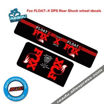 Acessórios da bicicleta adesivo raposa FLOAT-X dps mountain bike amortecedores traseiros adesivos mtb absorvedor de choque decalques