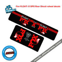 Bicycle Accessories Sticker FOX FLOAT-X DPS Mountain Bicycle Rear Shock Absorbers Stickers MTB Bike Shock Absorber Decals