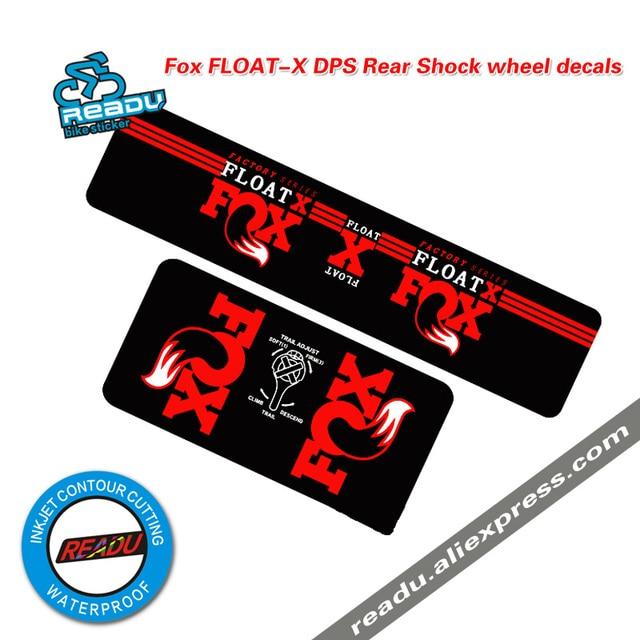 Bicycle Accessories Sticker FOX FLOAT X DPS Mountain Rear Shock Absorbers Stickers MTB Bike