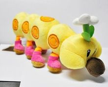 Super Mario Bros Wiggler Plush Soft Figure Doll Toy New