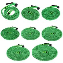 25to150 FT Flexible Garden Hose Car Watering with Spray Gun Kit Expandable Water Pipe Set