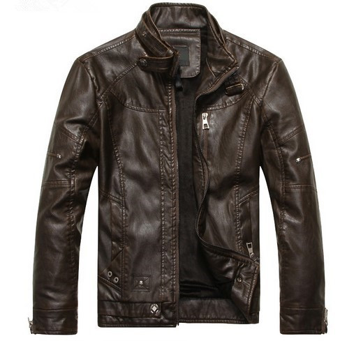 2016 New Arrive Brand Motorcycle Leather Jackets Men ,Men's Leather Jacket, Veste Cuir Homme ,Mens Moto Leather Jackets
