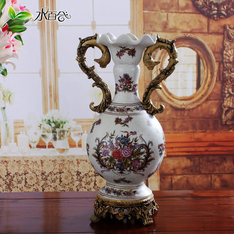 American Country Luxury European Classical Vases Jingdezhen Ceramic