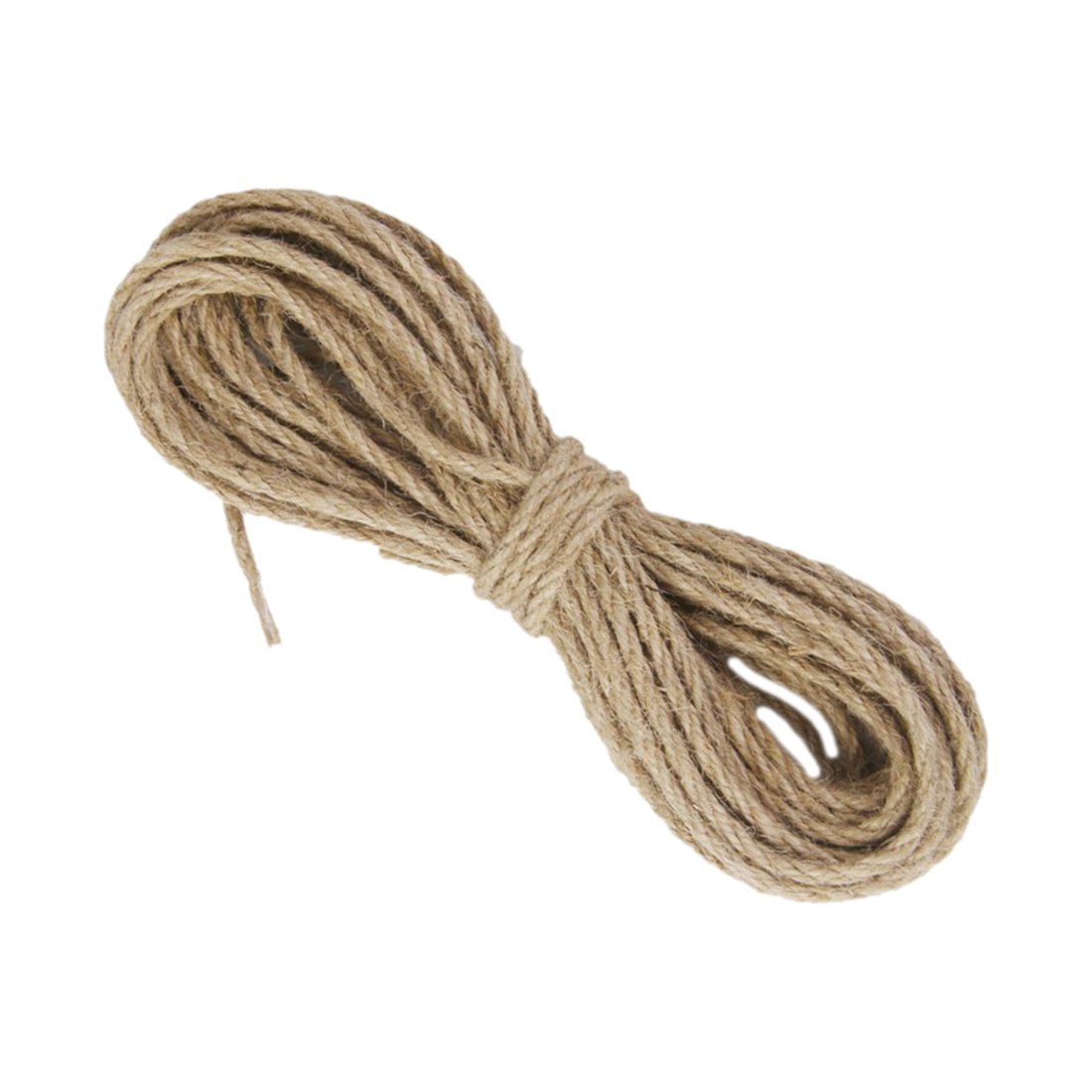 VSEN 10m Natural Hemp cord Jute cord Sisal rope 3mm cord sack
