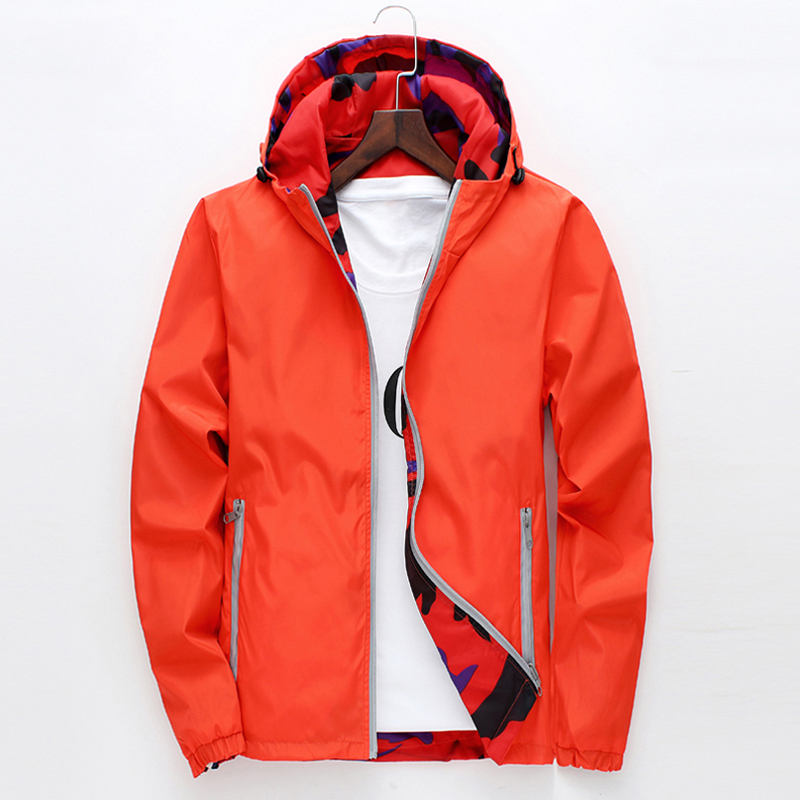 2019 Spring-Summer Wear Both Sides Men Women Outdoor Anti-UV Waterproof Windproof Jacket Outdoor Sports Camping & Hiking Jacket