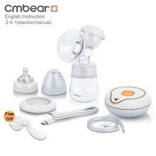 Cmbear большой электрический ручной молокоотсос для кормления ребенка feedkid infantil USB Электрический молокоотсос с бутылочкой для молока