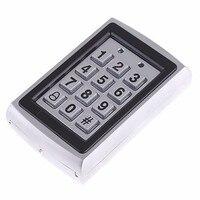 Metal Outdoor Keypad Access Control Door Locks+Door Bell for Home Office Security Look Pick Tool