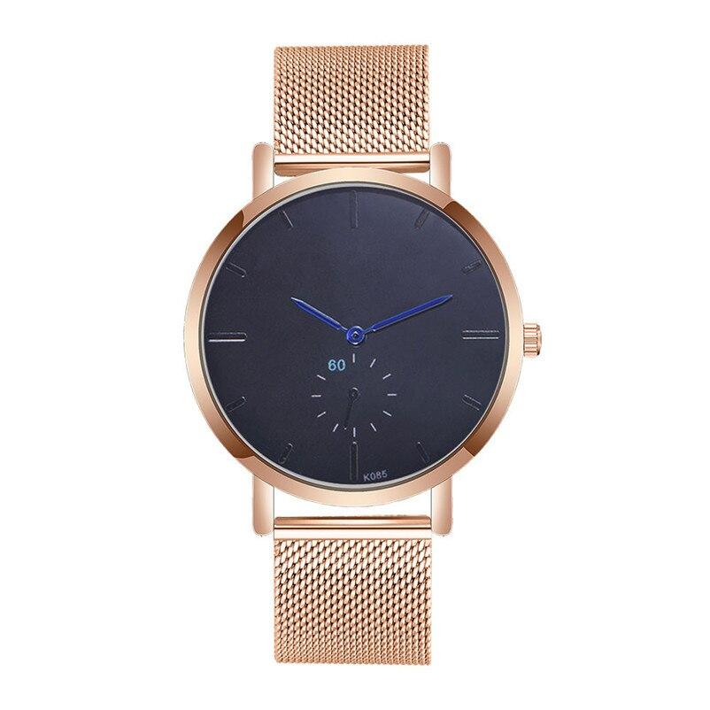 New Brand Mens Watches Top Brand Luxury Stainless Steel Wristwatch Mens Gift Quartz Watch Discount Relogio Masculino #4M29#F