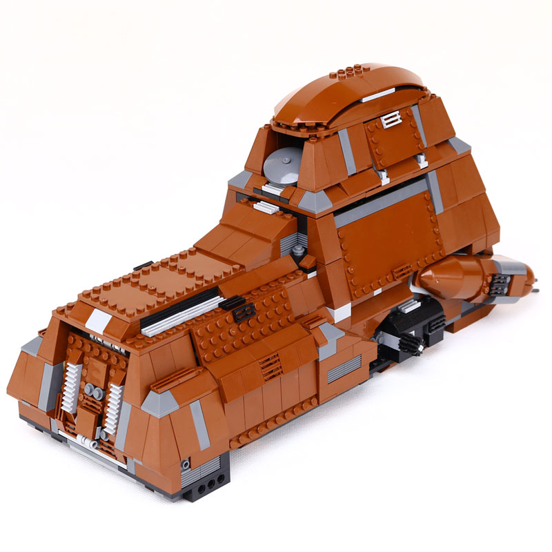 New Lepin 05069 Star War Series The Federation Transportation Tank Set MTT Children Building Blocks Bricks legoed Toys 7662 new lepin 16009 1151pcs queen anne s revenge pirates of the caribbean building blocks set compatible legoed with 4195 children