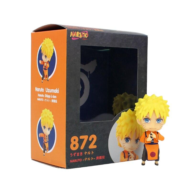 10cm Naruto Shippuden Uzumaki Naruto Kurama Kyuubi Nine Tailed Fox Action Figure