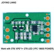 JOYING LIANG HZ-8812 светодиодный драйвер платы 3T6 XPE фара Функциональная плата портативное освещение привод пластина аксессуары