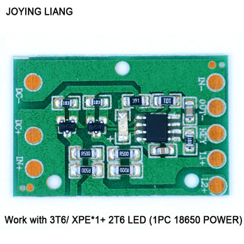 JOYING LIANG HZ-8812 LED Driving Circuit Board 3T6 XPE Headlight Lamp Function Portable Lighting Drive Plate Accessories