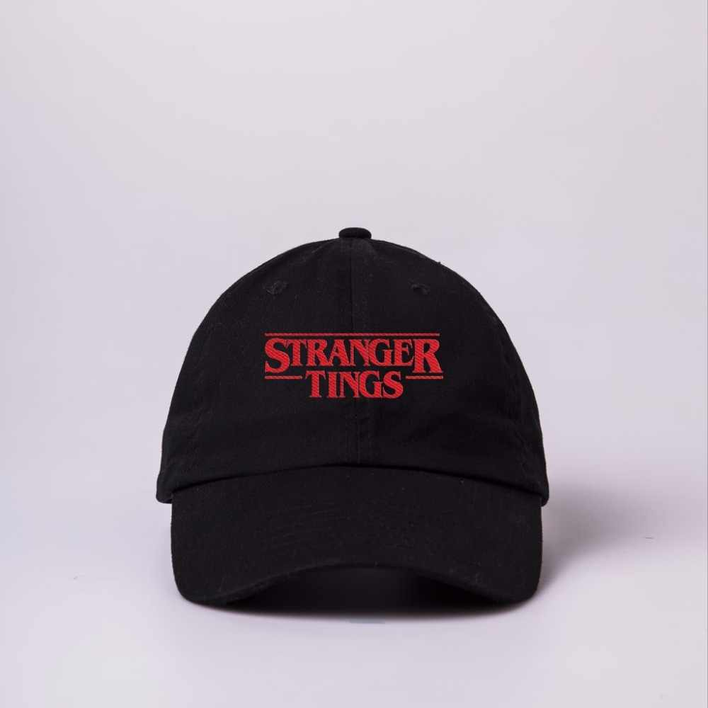2018 Trendy Faces Stranger Things Dad hats for Men Women Summer Baseball hat  Autumn Hip Hop 23413b2d523e