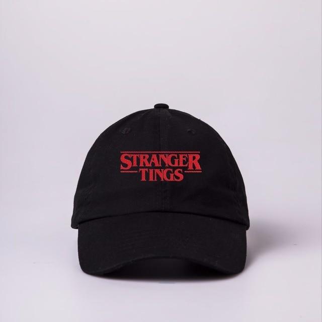 f4bb68ef9d4 2018 Trendy Faces Stranger Things Dad hats for Men Women Summer Baseball  hat Autumn Hip Hop Snapback Cap Men Brand