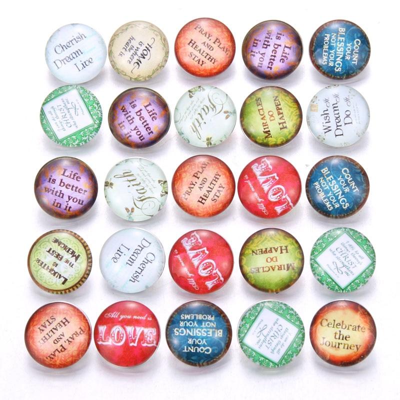10 шт./лот, смешанные цвета и узор, 18 мм, стеклянные кнопки, ювелирное изделие, граненое стекло, оснастка, подходят, оснастки, серьги, браслет, ювелирное изделие - Окраска металла: AB223