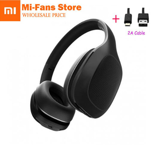Image 1 - New Xiaomi Mi Bluetooth Wireless Headphones 4.1 Version Bluetooth Earphone aptX 40mm Dynamic PU Headset For Mobile Phone