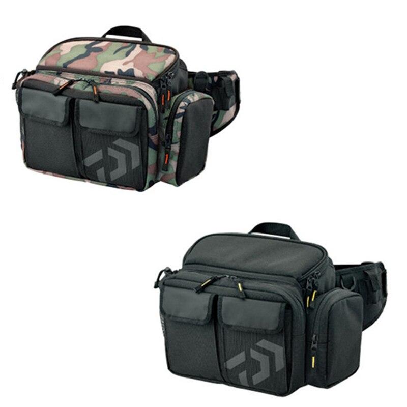 Sacs de pêche multifonctions 30*19*14 cm sac de pêche en plein air paquet de stockage sac de stockage d'outils de pêche de grande capacité Pesca