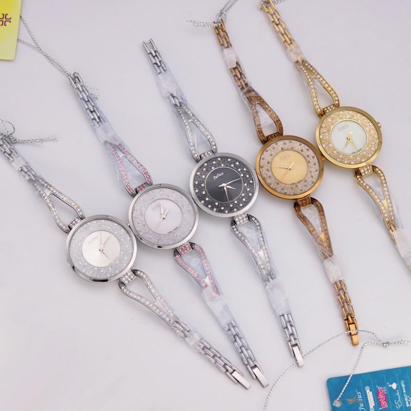 Crystal Rhinestone Shell Lady Women's Watch Japan Quartz Timer Klokke - Dameklokker - Bilde 6