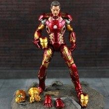 HOT Marvel Select Iron Man MK43 Mark XLIII Armor PVC Action Figure