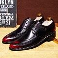 Mens Shoes Casual 2016 New Men Oxfords, Lace-Up Business Men Wedding Shoes, PU Leather Men Dress Shoes