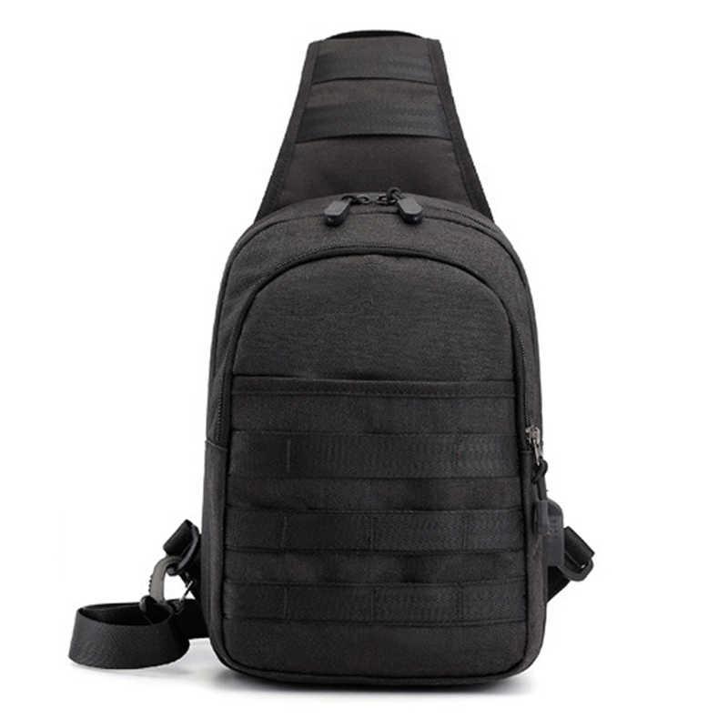 Bolsa de pecho para hombres, bolsos de hombro, USB, carga, rayas, costura, tira, bandolera, escuela, verano, viaje corto, bolsa de viaje