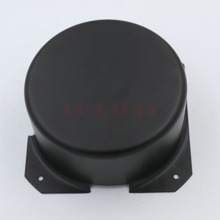GD PARTS 120mm Round Black Iron Tube AMP Triode Transformer Protect Cover Box Enclosure Case For Vintage Hifi Audio DIY
