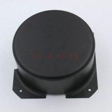 GD PARTS 120mm 라운드 블랙 철 튜브 앰프 triode 변압기 보호 커버 상자 인클로저 케이스 빈티지 hifi 오디오 diy