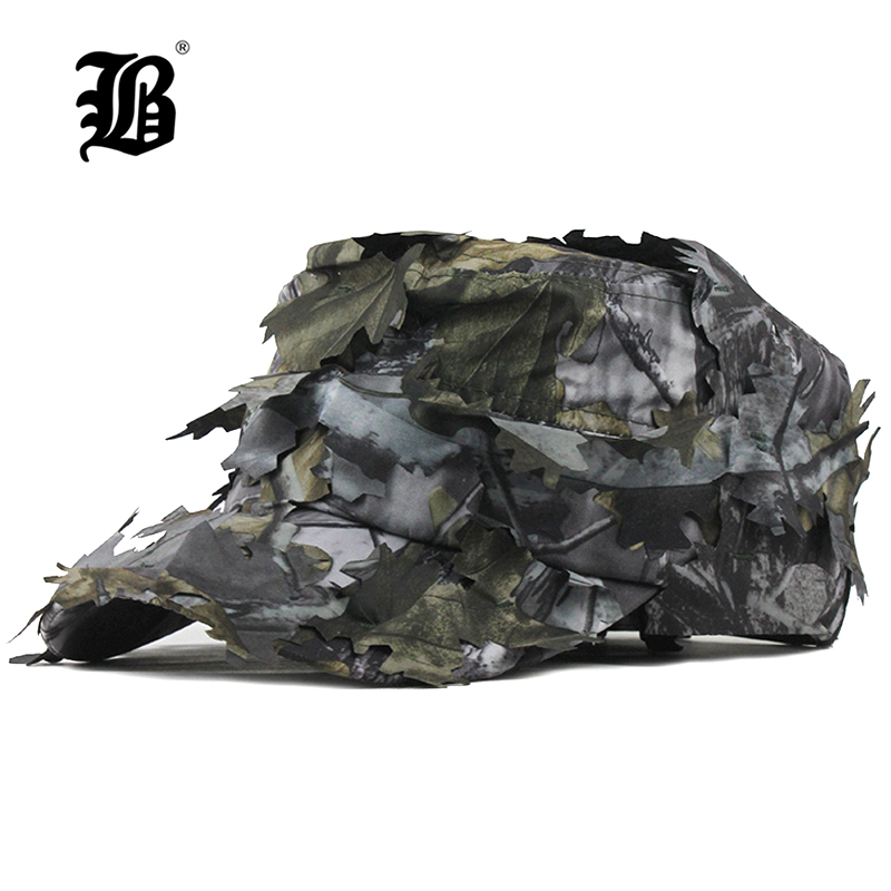[FLB] Men's Flat Cap Washed Cotton Camouflage Leaf Military Hats New Style Breathable Sun Visor Tongue Cap For Men Dad Hat F324
