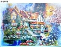 Carta per adulti 500 pezzi poco cabine di puzzle trefl Bambini Educational toy puzzle Figura Paesaggio Costruzione jiasaw 500 Giocattoli