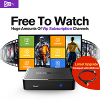 Mag250 TV Box Sweden Brazil 3500 Channels IPTV Box Turkish Subtv IPTV Subscription Europe French Germany