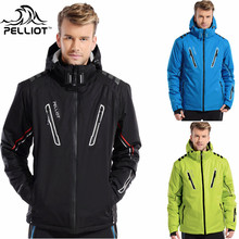 Guarantee the authentic!2017 Pelliot ski jacket Men's water-proof,breathable thermal snowboard suit outcoat snow skiing jackets