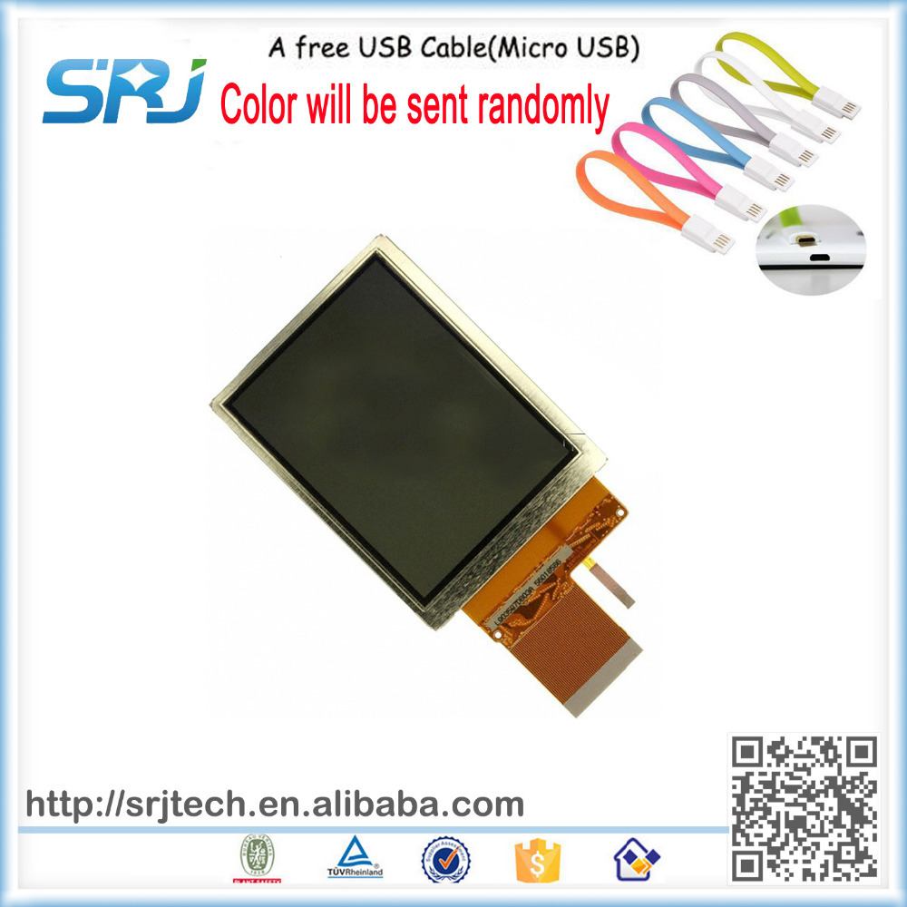ФОТО In Store Intermec CK31 LCD Screen Display Panel Repair Parts Original New Data Collector LCD + A Free USB Cable