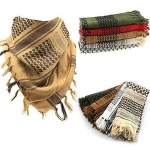 Image 2 - Thời trang Nam Nhẹ Vuông Ngoài Trời Chiến Thuật Sa Mạc Chân Quân Đội Quân Ả Rập Shemagh Keffiyeh Arafat Khăn Quàng Cổ Thời Trang mới 2020
