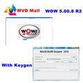 Mais novo Wurth WoW V5.00.8 R2 Com Keygen + Guia de Instalação de Vídeo + 10 Idiomas Para A Gasolina Universal & Carros A Diesel até 2016 Ano