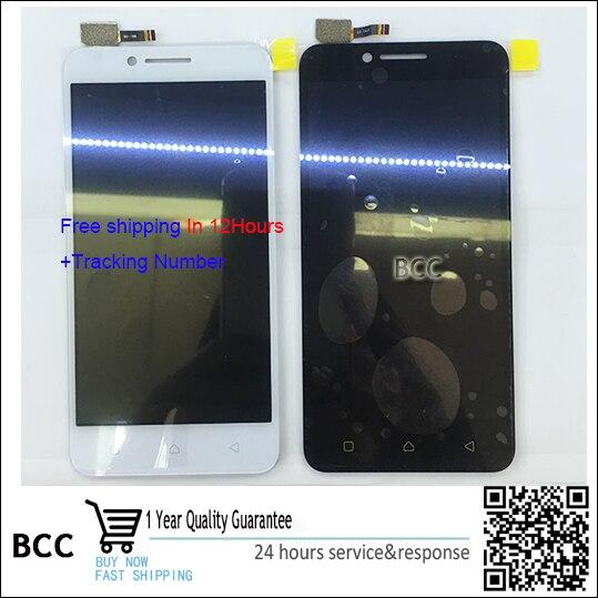 White,Black For Lenovo Vibe C A2020 A2020a40 LCD Display +Touch Screen Digitizer Free shipping+Test OK аксессуар чехол lenovo k10 vibe c2 k10a40 zibelino classico black zcl len k10a40 blk