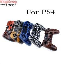 Para Playstation 4 Shell Habitação Capas para PS4 Frente e para trás Do Jogo Conchas Hidro mergulhado Projetos de Substituição de Plástico Caso para PS4