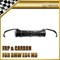 Car styling For BMW E63 E64(Soft top) M6 Carbon Fiber Vorsteiner Style Rear Diffuser Glossy Fibre Bumper Body Kit Accessories