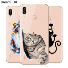 DREAMFOX M192 Cool Cat Soft TPU Silicone Case Cover For Huawei Honor 6A 6C 6X 7A 7C 7S 7X 8 Lite Pro